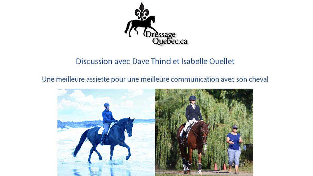 discussion dave thind et Isabelle Ouellet